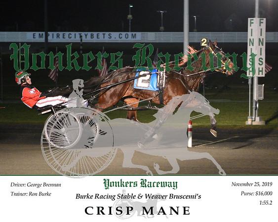20191125 Race 4- Crisp Mane 1