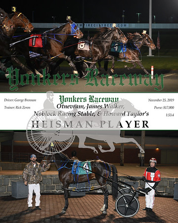 20191125 Race 7- Heisman Player