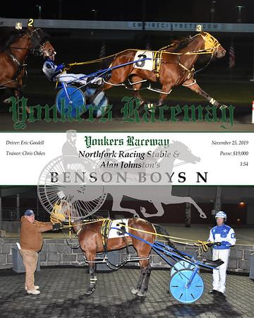 20191125 Race 10- Benson Boys N