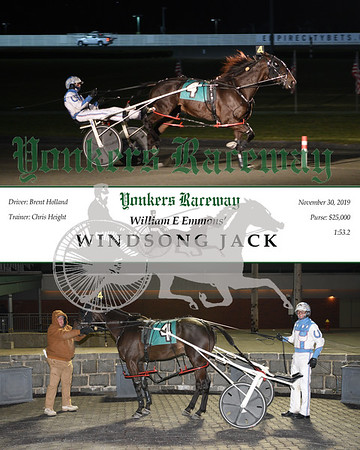 20193011 Race 3- windsong jack