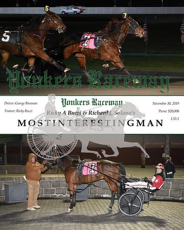 20193011 Race 1- mostinterestingman