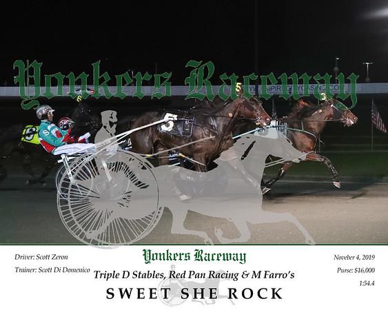 20191104 Race 4- Sweet She Rock 2