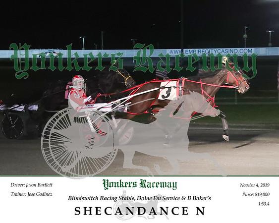20191104 Race 7- Shecandance N