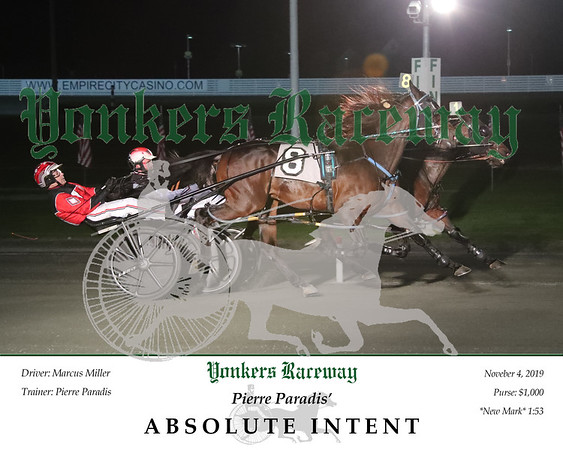 20191104 Race 6- Absolute Intent 2