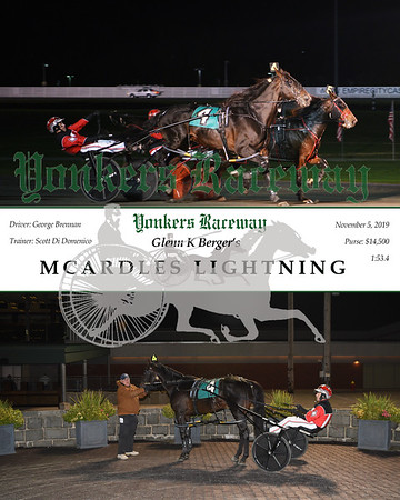 20191105 Race 9- mcardles lightning