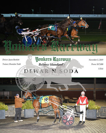 20191105 Race 10- dewar n soda