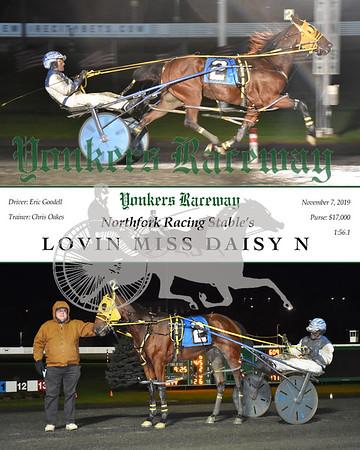 20190711 Race 7- lovin miss daisy n