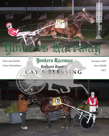20191108 Race 8- Cay's Blessing