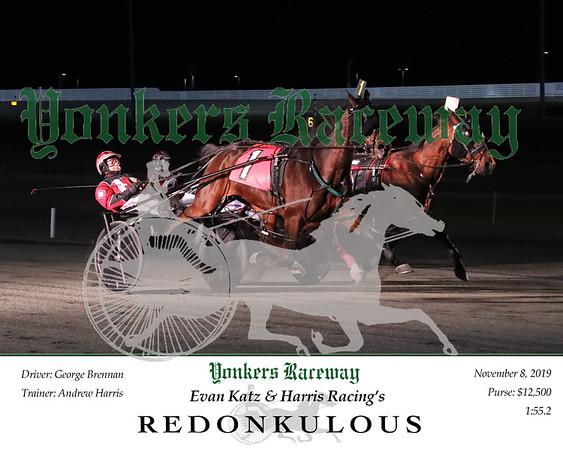 20191108 Race 1- Redonkulous