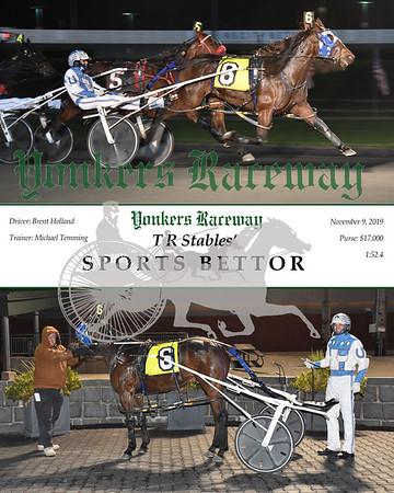 20190911 Race 1- sports bettor