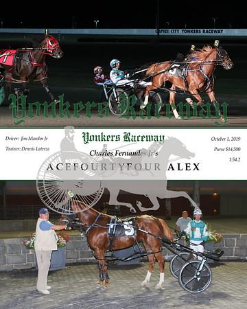 20191001 Race 9- Acefourtyfour Alex