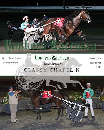 20191001 Race 7- Classy Chapel N