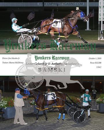 20191001 Race 6- Bamski