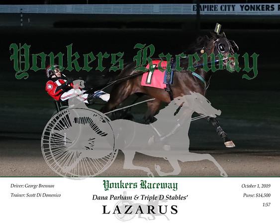 20191001 Race 5- Lazarus 2