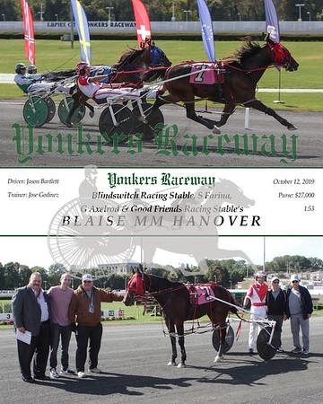 20191012 Race 1- Blaise MM Hanover 2
