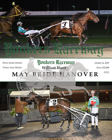 10142019 Race 6- may bride hanover