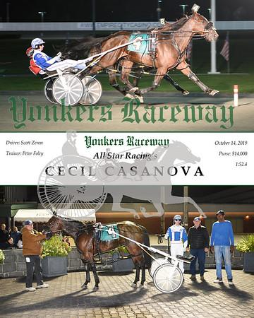 10142019 Race 3- cecil casanova