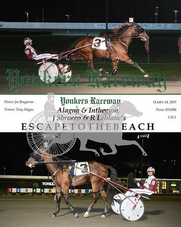 10142019 Race 12- escapetothebeach
