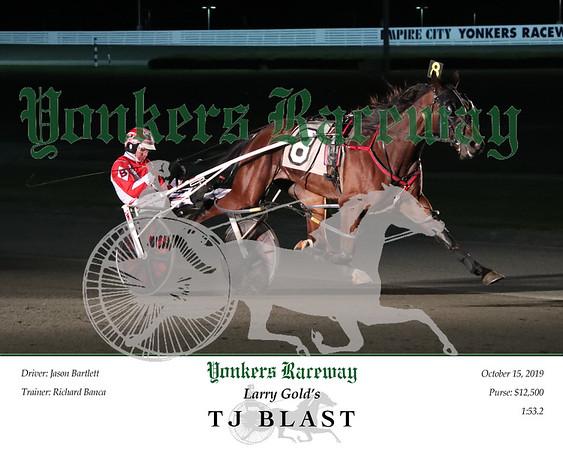 20191015 Race 1- TJ Blast 2