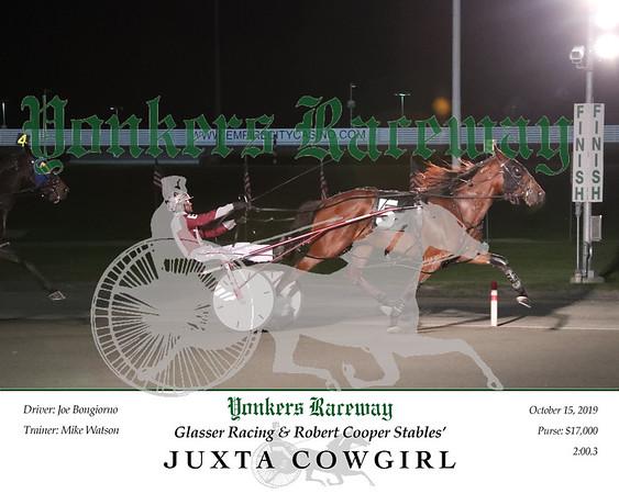 20191015 Race 8- Juxta Cowgirl