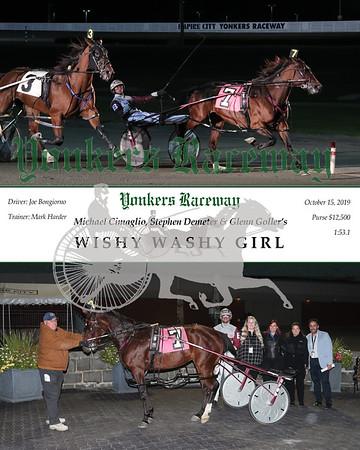 20191015 Race 4- Wishy Washy Girl