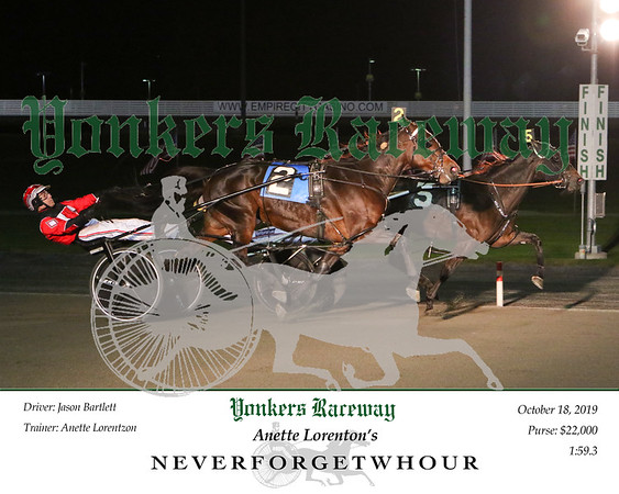 20191018 Race 8- Neverfogetwhour