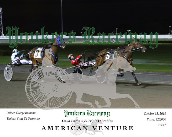 20191018 Race 1- American Venture 2