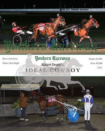 20191018 Race 5- Ideal Cowboy
