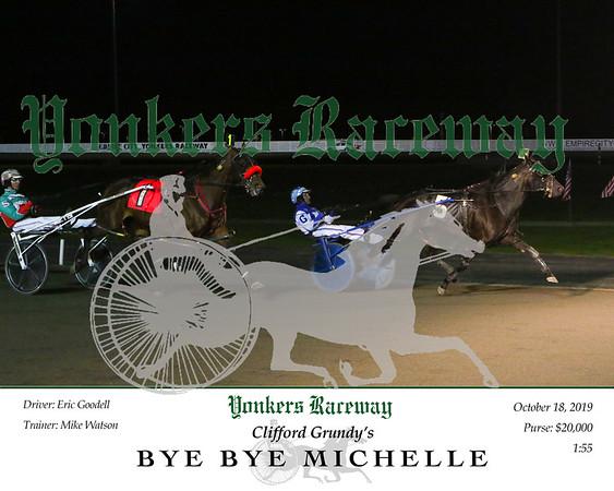 20191018 Race 9- Bye Bye Michelle
