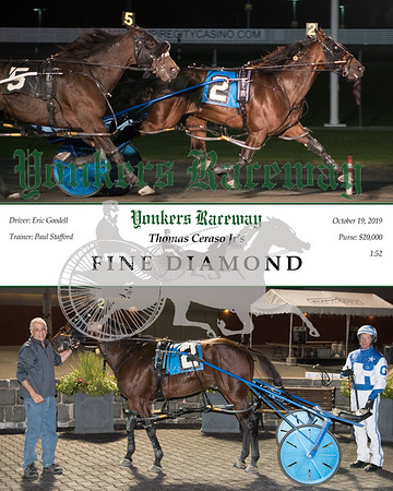 20191019 Race 5-Fine Diamond