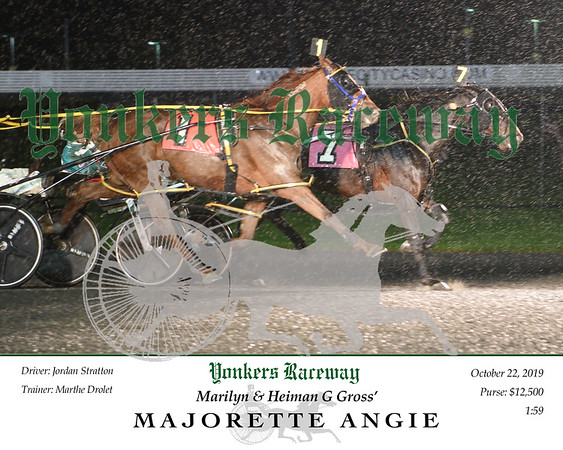 20191022 Race 5- majorette angie 2