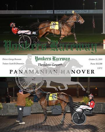 20211019 Race 2- Panamanian Hanover