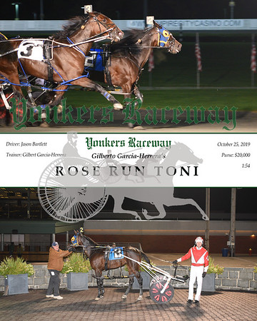 20191025 Race 3- Rose Run Toni