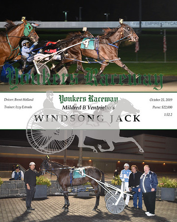 20191025 Race 4- Windsong Jack