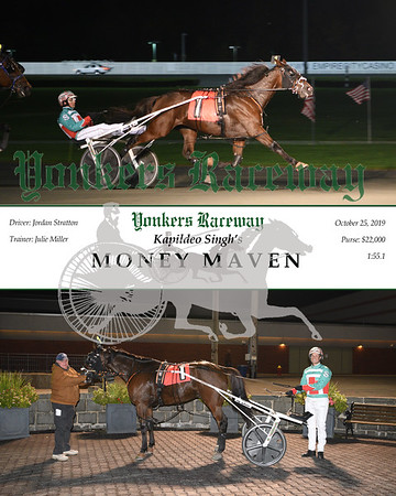 20191025 Race 8- Money Maven