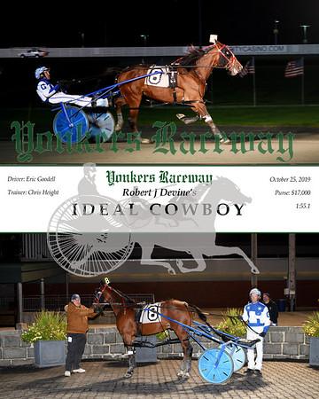 20191025 Race 10- Ideal Cowboy
