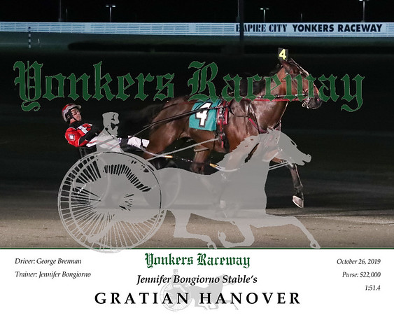 20191026 Race 9- Gratian Hanover 2