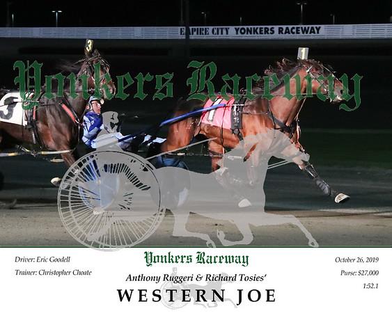 20191026 Race 11- Western Joe 2