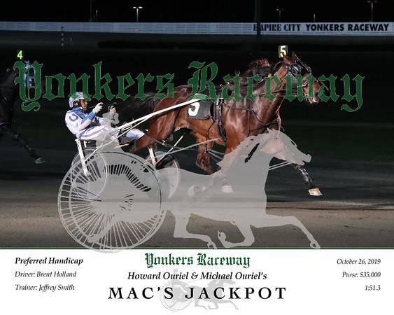 20191026 Race 5- Mac's Jackpot 2