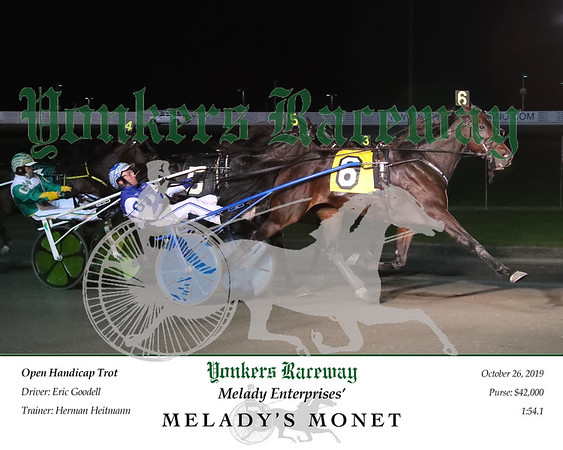 20191026 Race 6- Melady's Monet 2