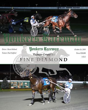 20191028 Race 12- Fine Diamond