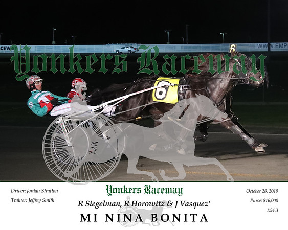 20191028 Race 5- Mi Nina Bonita 2