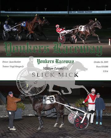 20191028 Race 9- Slick Mick