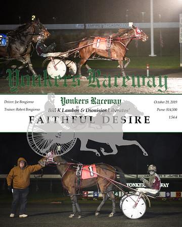 20191029 Race 5- Faithful Desire