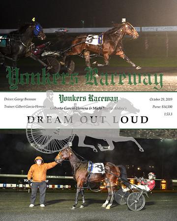20191029 Race 9- Dream Out Loud