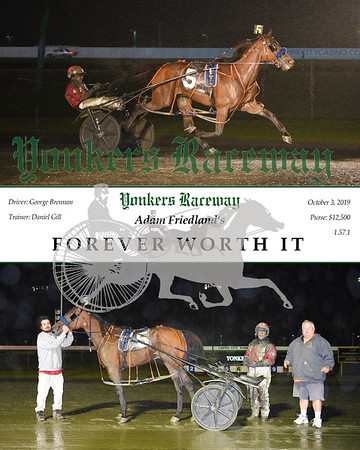 20191003 Race 9- Forever Worth It