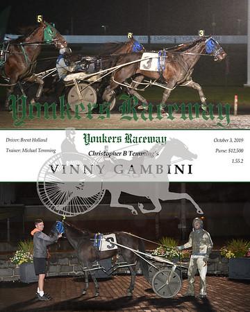 20191003 Race 6- Vinny Gambini