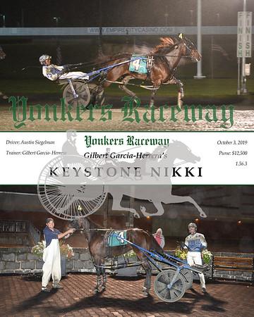 20191003 Race 4- Keystone Nikki