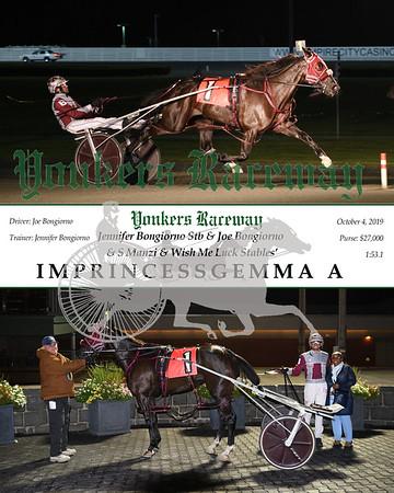 20191004 Race 5- imprincessgemma a