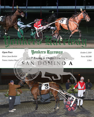 20191005 Race 6- San Domino A